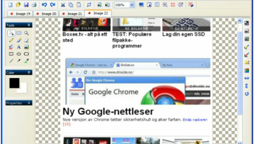 PicPick - avansert Print Screen