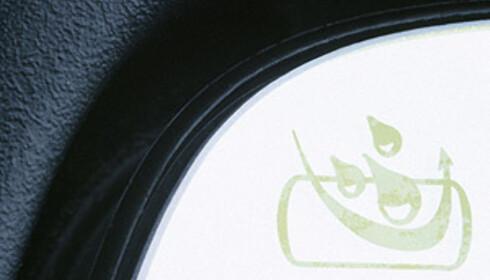 Volvo symbol for vannavvisende glass (Water Repellent Glass, WRG)