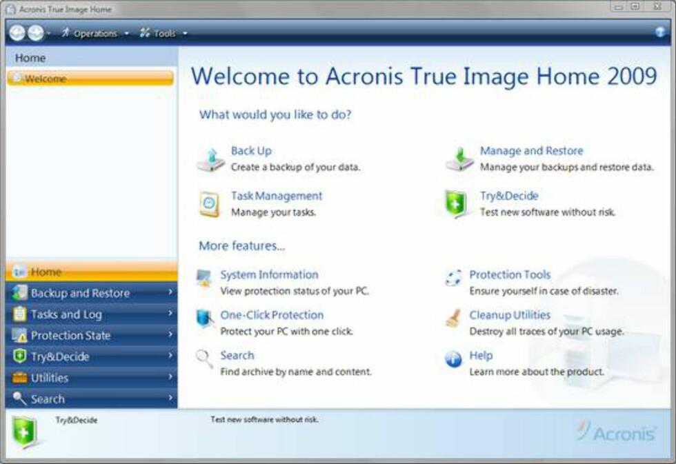 Acronis TrueImage Home 2009
