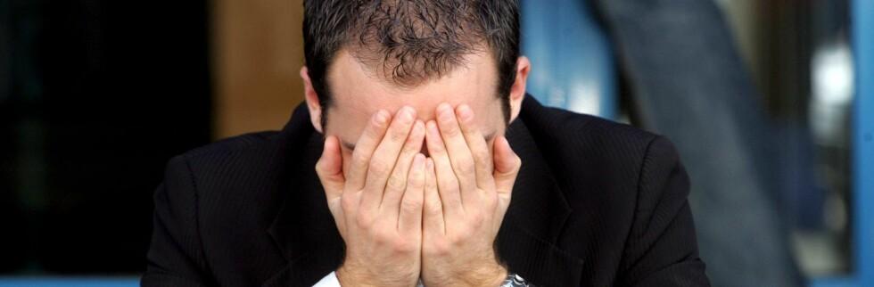 Nedgangen i boligmarkedet gjør at mange mister jobben.    Foto: Colourbox.com