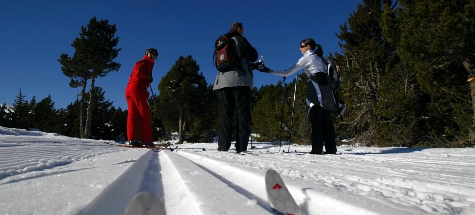 Alt ligger til rette for en fantastisk skihelg, også for langrennsentusiaster. Illustrasjonsfoto: Colourbox