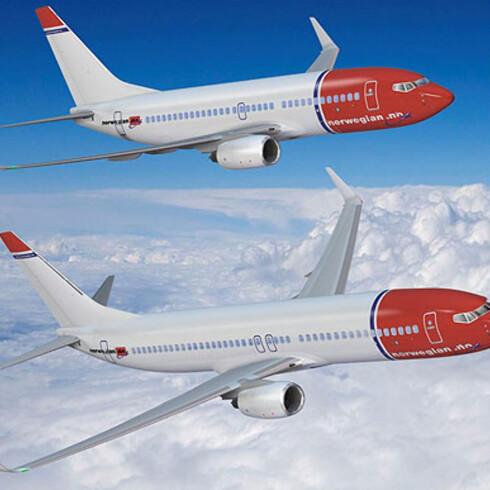 Norwegian jobber på spreng for å opprette nye ruter som Sterling tidligere har fløyet. Foto: Norwegian