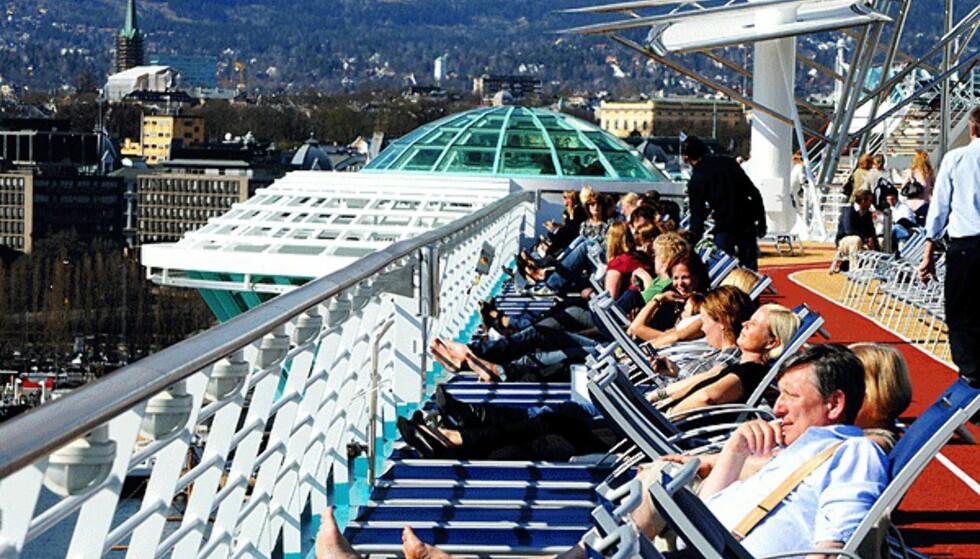 Fra Independence of the Seas. Foto: Hans Kristian Krogh-Hanssen