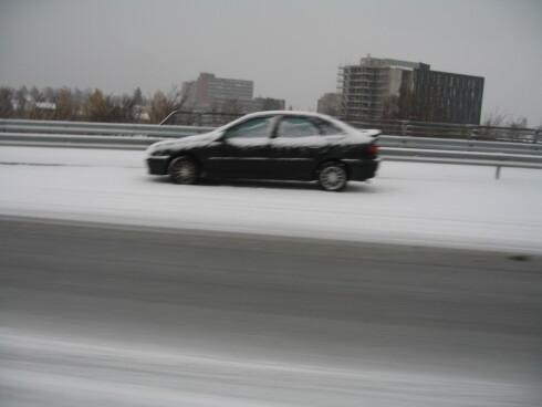 Flere kjører med sommerdekk om vinteren