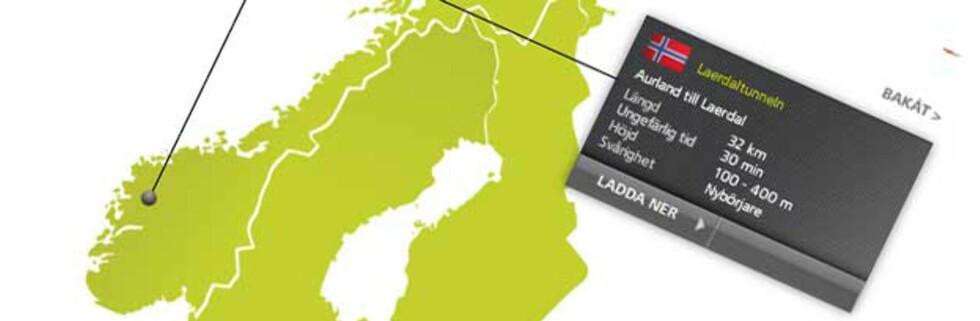 Norsk rute blant Top Gears 30 favoritter