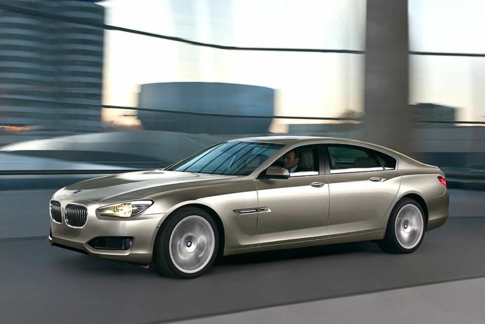 BMW 8-serie, basert på konseptbilen CS, er forventet i 2012. Foto: Automedia