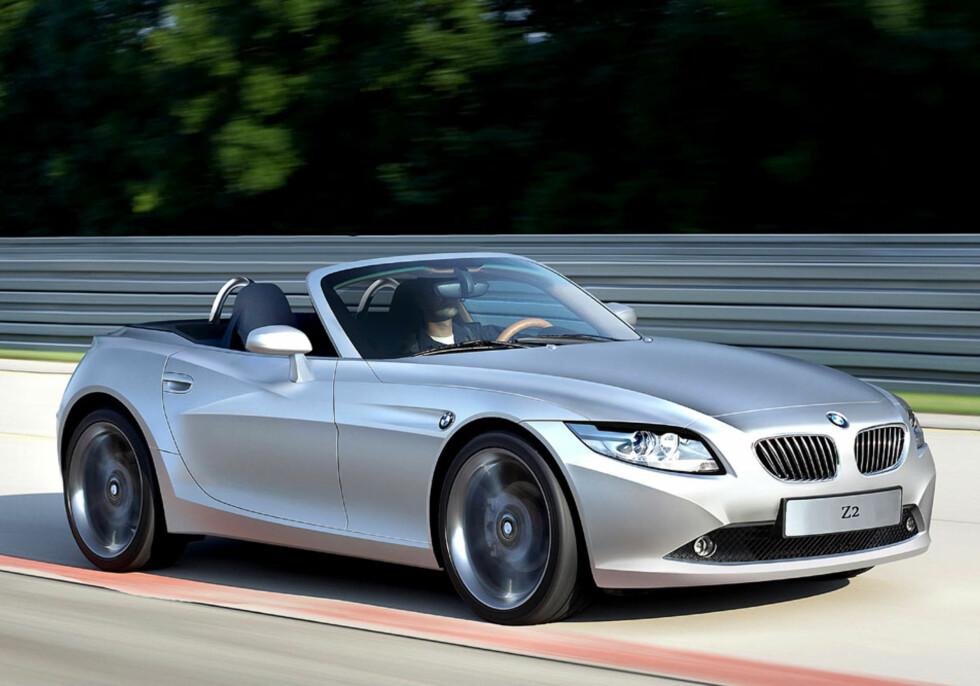 BMW Z2 er forventet i 2012 og kan bli et god alternativ hvis ny Z4 blir større enn dagens. Foto: Automedia