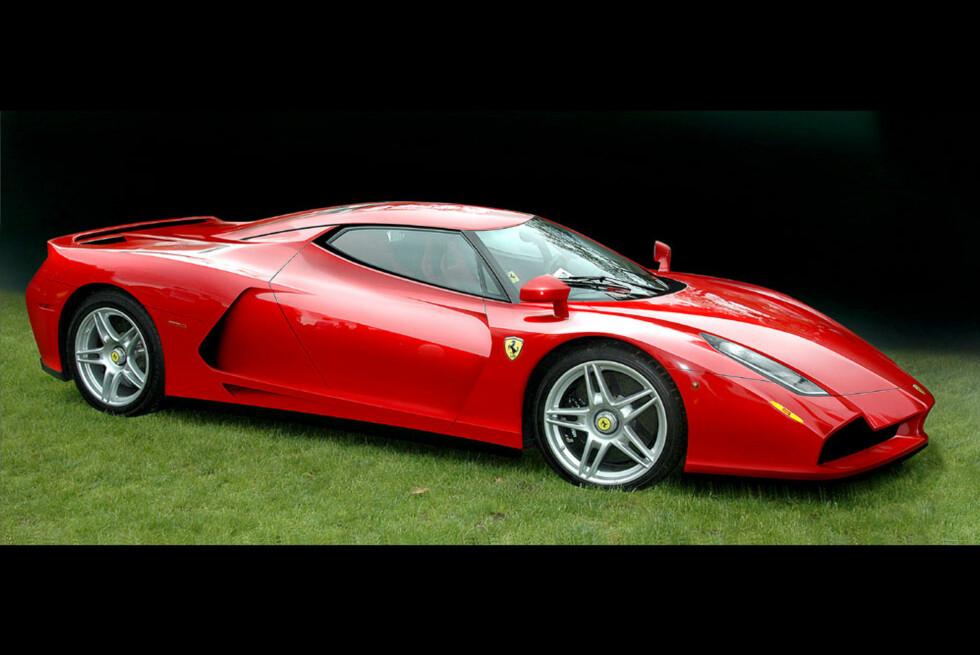 Ny Ferrari Enzo. Er ventet i 2012. Foto: Automedia