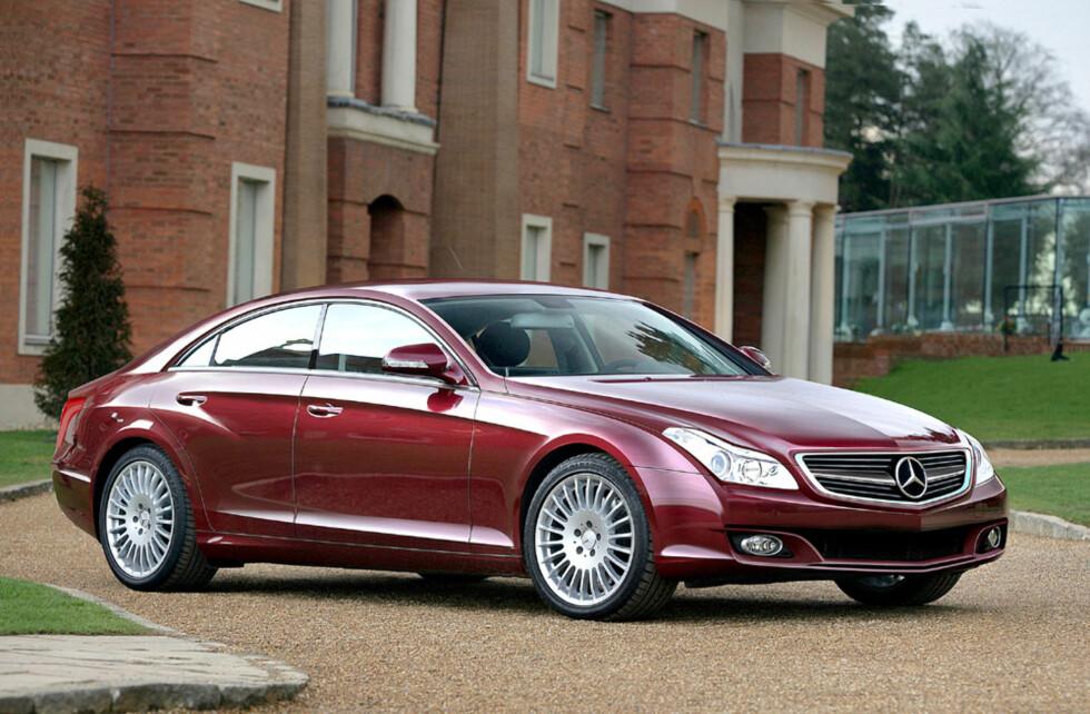 Ny Mercedes CLS kan se slik ut. Er ventet i 2011. Foto: Automedia