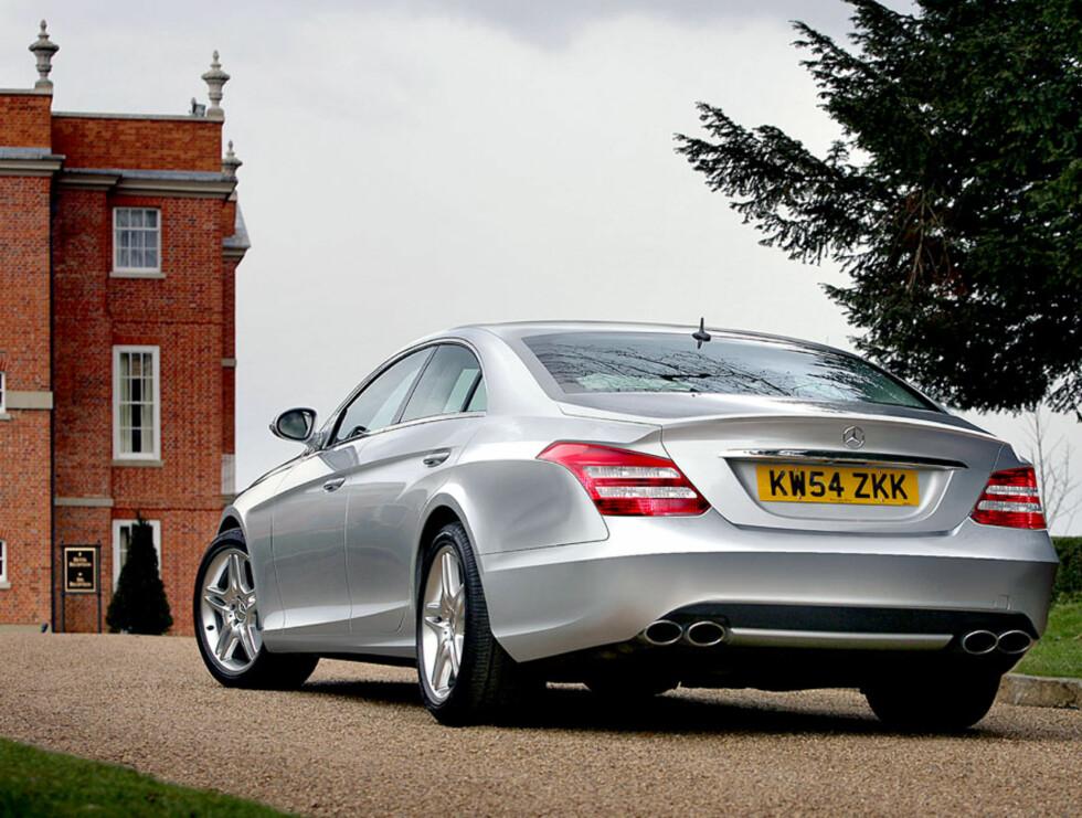 Mercedes CLS. Foto: Automedia