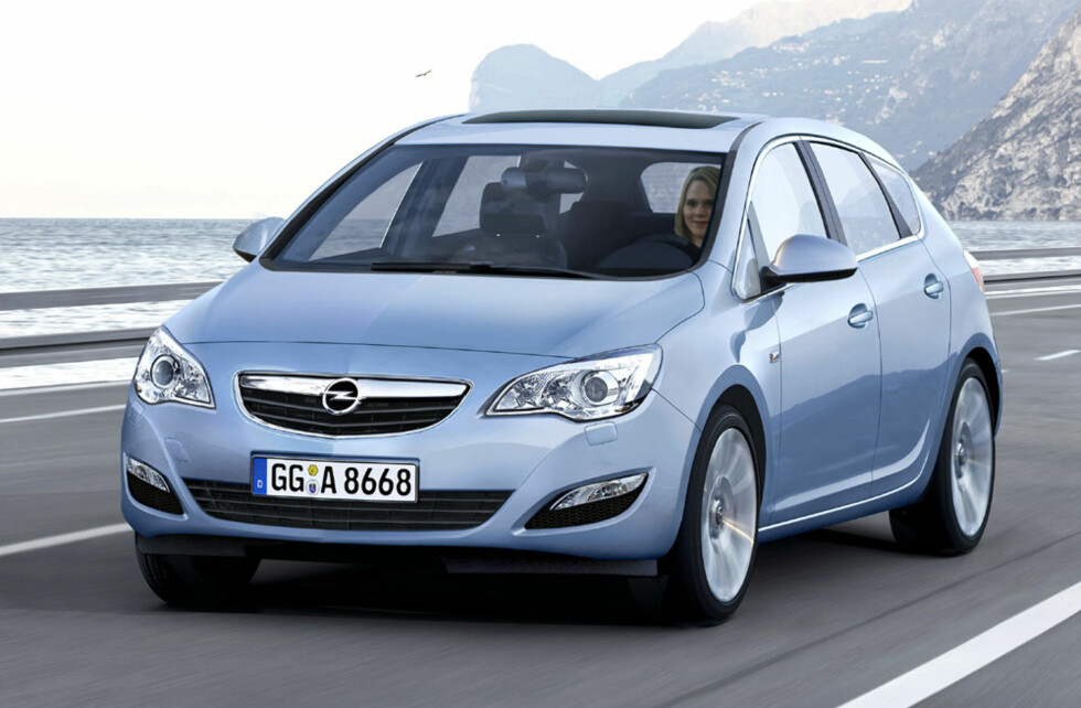 Opel Astra er ventet neste år. Foto: Opel Astra