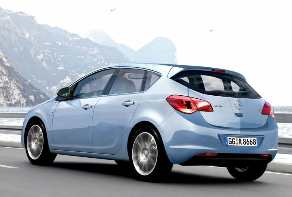Opel Astra. Foto: Automedia
