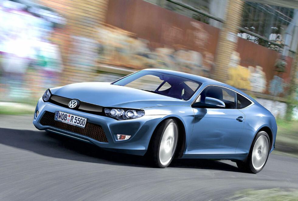 Versting-Scirocco? Volkswagen jobber med ny superkupé. Ventet i 2012. Foto: Automedia
