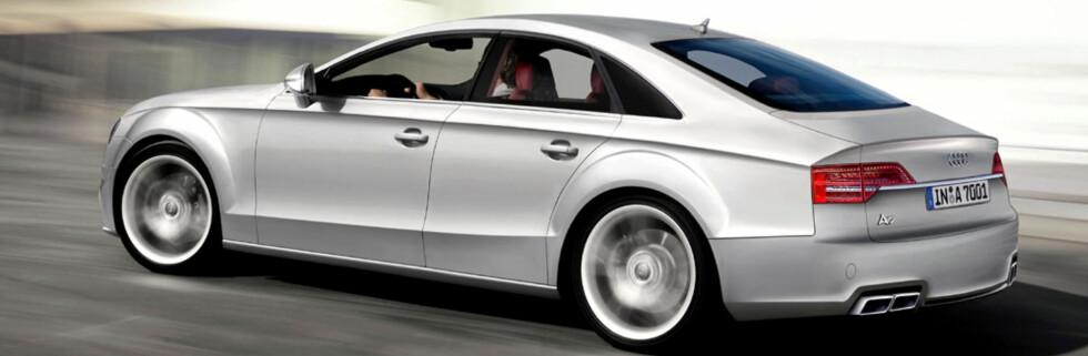 Audi A7 vil bli en konkurrent til ny BMW 8-serie hvis bilene blir lansert. Forventet i 2010. Foto: Automedia