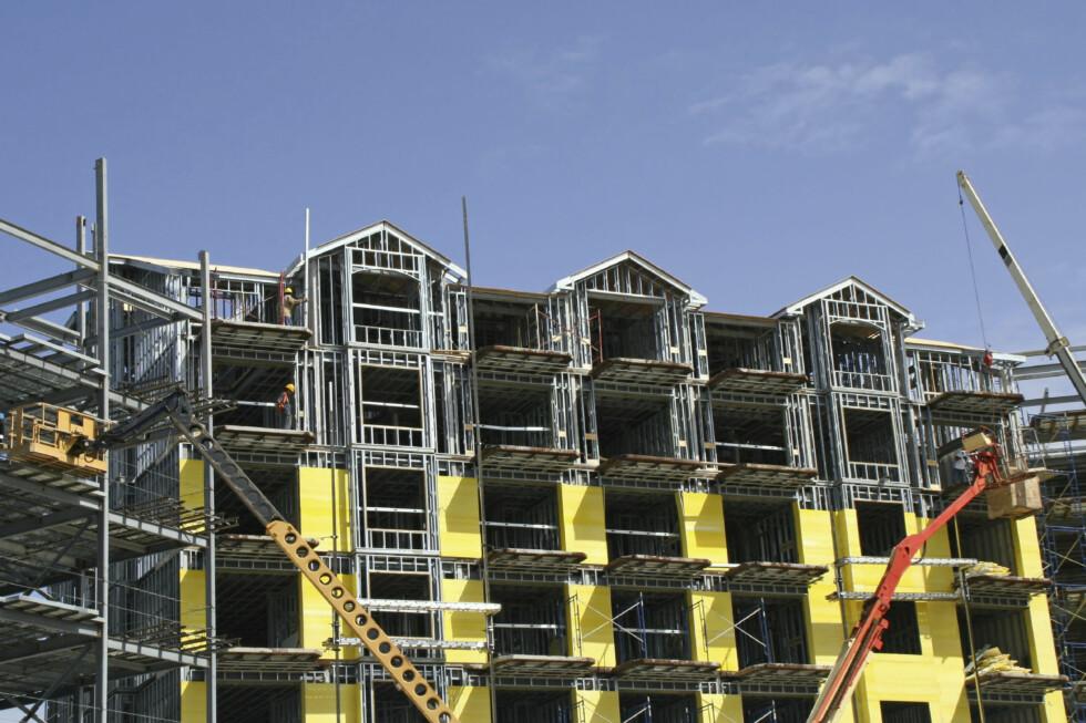 Salget av nye boliger går tregt. Foto: iStockphoto.com