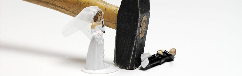 Den nygifte mannen trengte en pause fra kona, og lot som han var kidnappet.  Foto: colourbox.com