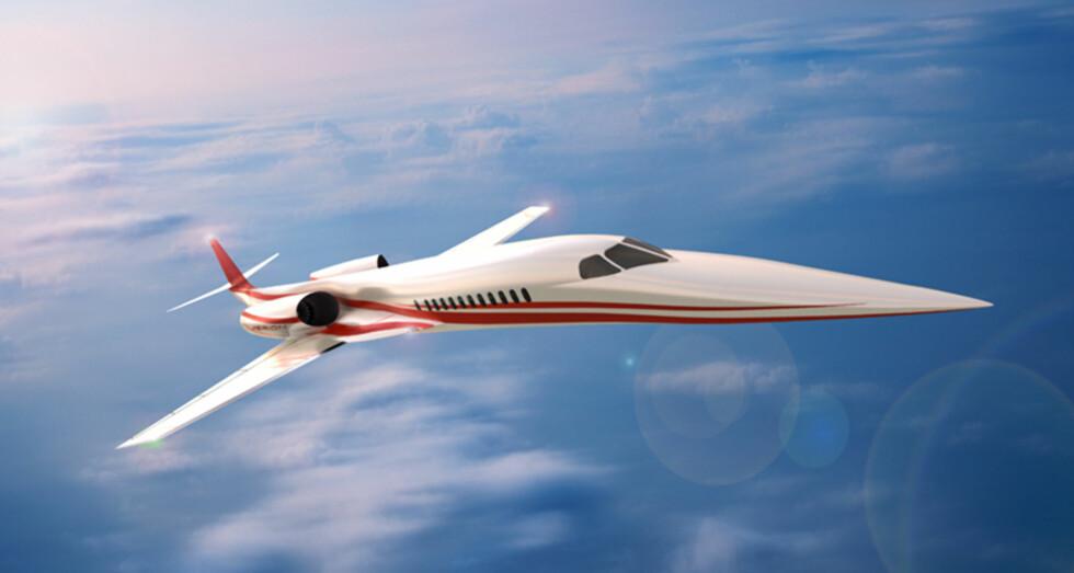 Aerion SBJ kan krysse Atlanteren på kun fire timer. Foto: Aerion