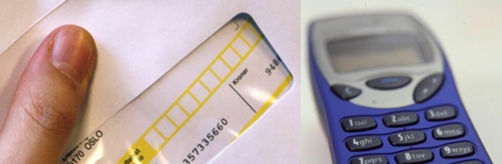 Det er ikke gratis å utsette mobilregningen. Foto: Per Ervland/Colourbox.com