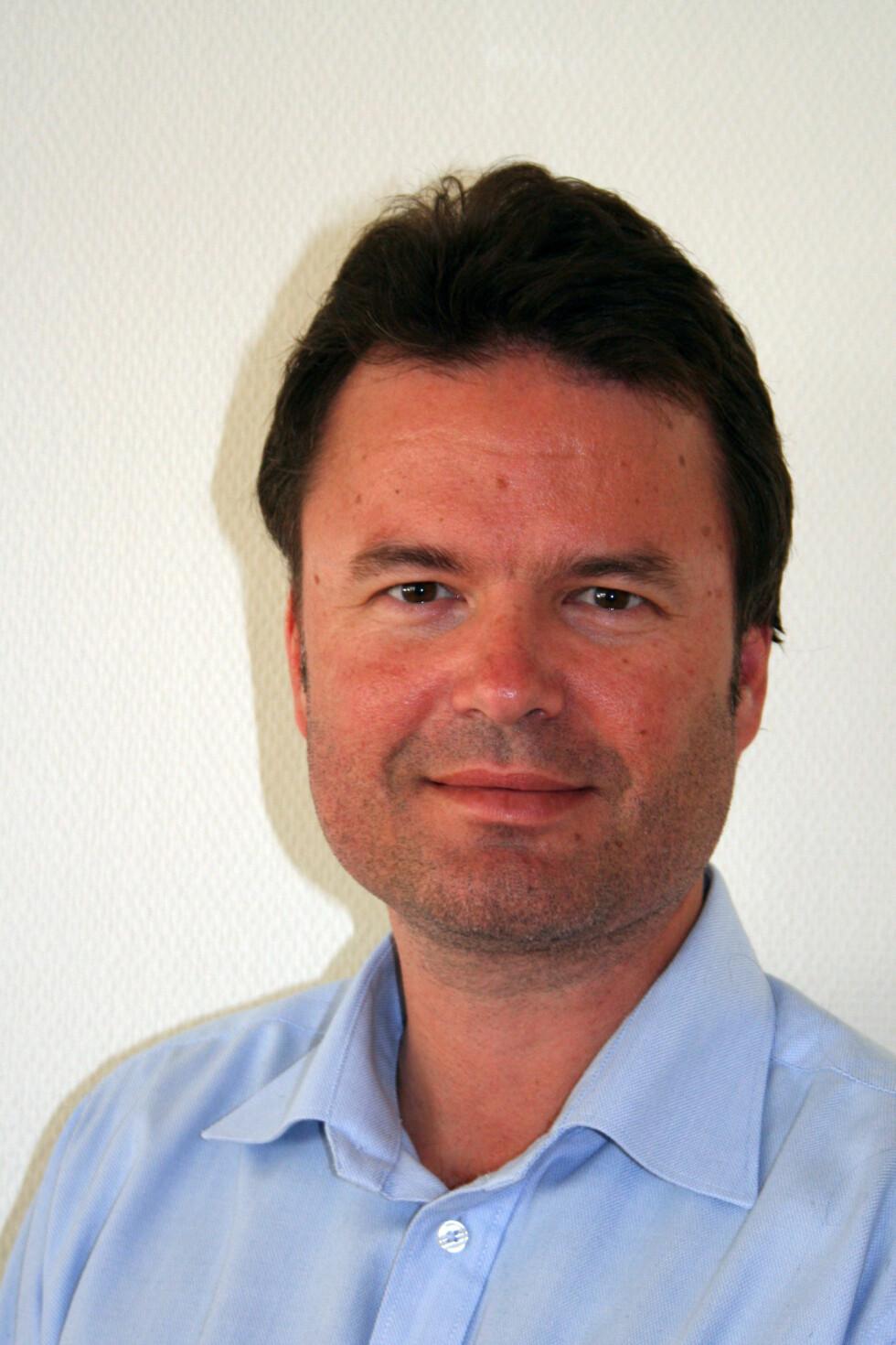 Lars-Erik Sletner, seniorøkonom i Bedriftsforbundet. Foto: Bedriftsforbundet