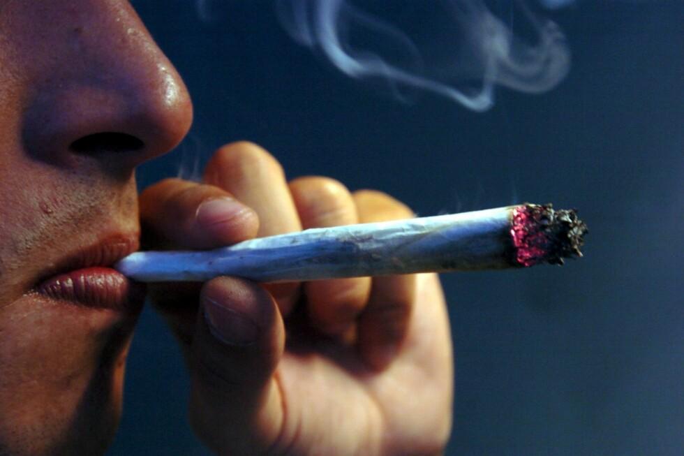Nå er det snart slutt på røykingen mange steder i Nederland.  Foto: colourbox.com