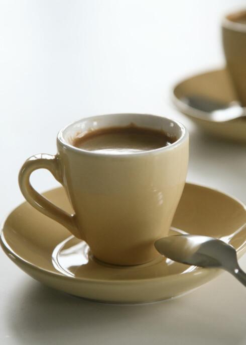 Kaffe gjør mer enn å kvikke opp hjernen, viser studie.  Foto: colourbox.com