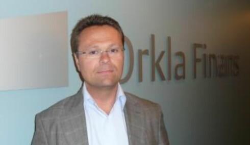 Administrerende direktør Bjørn Slåtto i Orkla Finans er lei seg for at han nå må si opp flere ansatte. Foto: Orkla