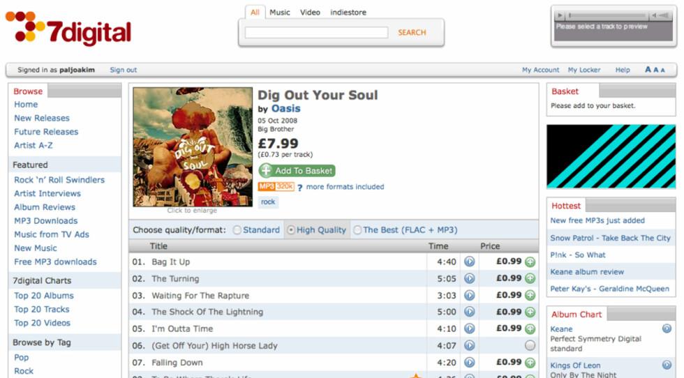 DRM-fri musikkbutikk for alle