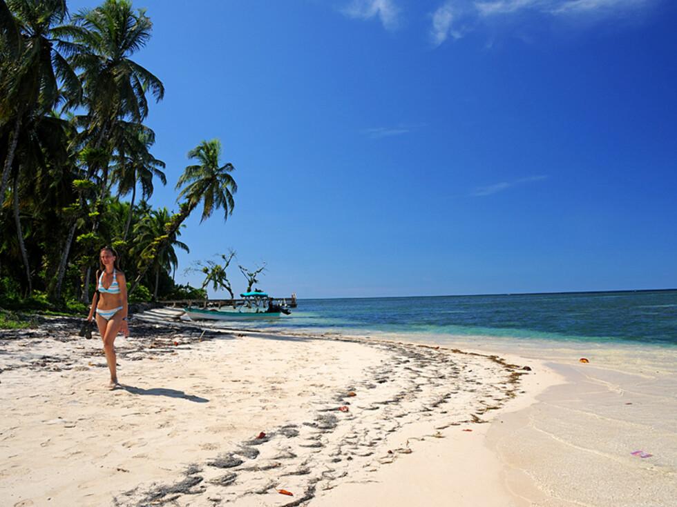 Zapatillas er en av de fineste strendene i Bocas - eller verden? Foto: Hans Kristian Krogh-Hanssen