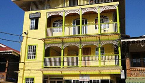 Typisk hus i Bocas by. Foto: Hans Kristian Krogh-Hanssen