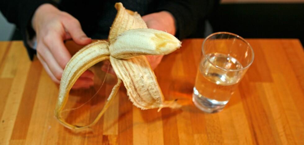 Går helt bananas for ny diett