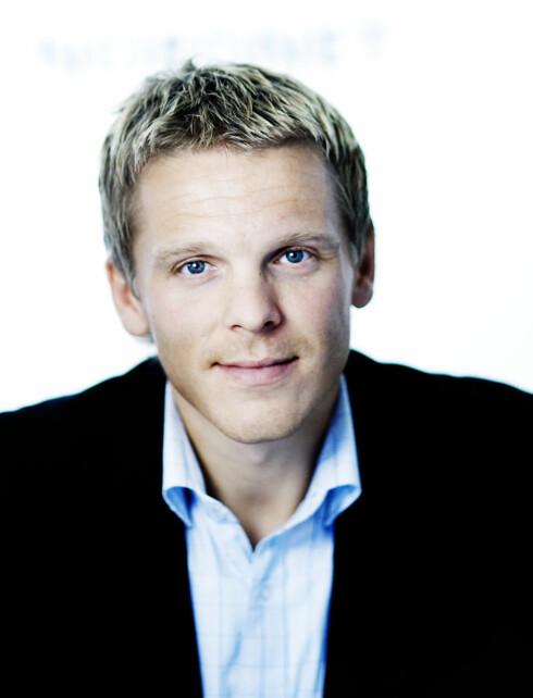 Anders Skar er daglig leder i Nordnet Bank Norge Foto: Nordnet