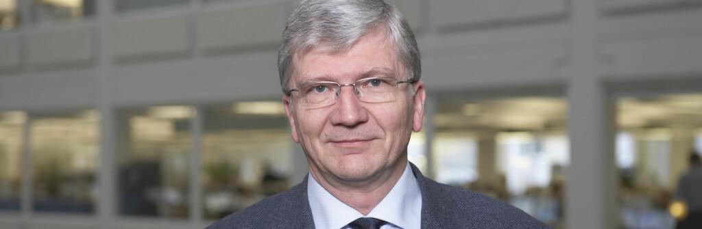 Steinar Juel er sjeføkonom i Nordea. Han advarer mot for lav rente. Foto: Nordea