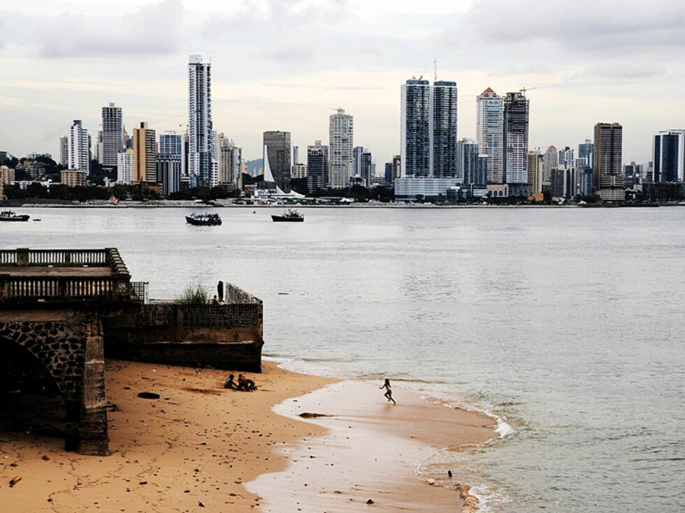 Panama City vokser utrolig fort. Stadig flere amerikanere og europeere flytter hit på grunn av levestandaren og gunstige bank- og skatteordninger. Foto: Hans Kristian Krogh-Hanssen