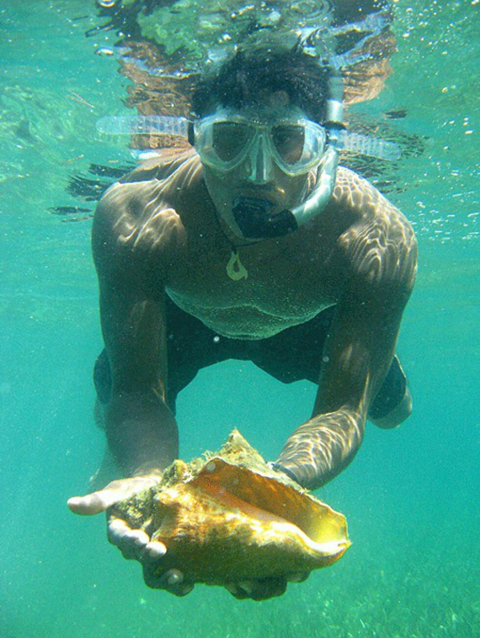 Snorkling i Bocas del Toro.  Foto: Hans Kristian Krogh-Hanssen