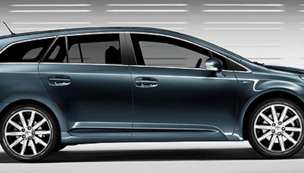 Store bilder: Nye Toyota Avensis