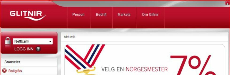 Glitnir Bank blir Sparebank 1 Gruppen