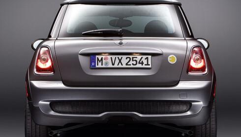 Store bilder av Minis el-bil