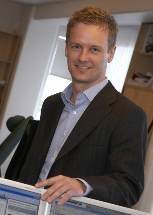 Bjørn Roger Wilhelmsen, First Securities Foto: First Securities