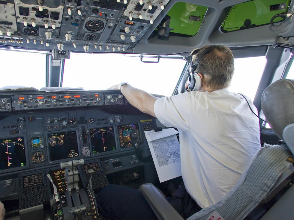 Det var like før take-off at piloten ble arrestert på Heathrow. Illustrasjonsfoto: Colourbox