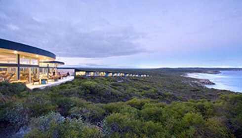 Southern Ocean ligger flott til med utsikt over havet og naturen. Foto: southernoceanlodge.com.au
