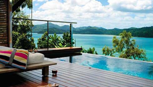 Qualia er kanskje det mest lukseriøse hotellet på Great Barrier Reef.  Foto: qualia.com.au