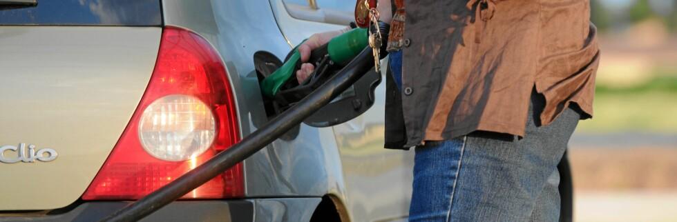 Reduserte oljepriser har hatt en hyggelig effekt på bensin- og dieselprisene. Foto: Colourbox.com