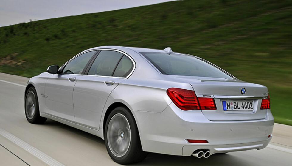 BMW 7-serie: Store eksteriørbilder