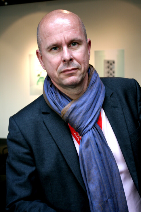 Henrik Otto mener vesteuropeiske designstudenter ikke er agressive nok. Foto: Kim Jansson