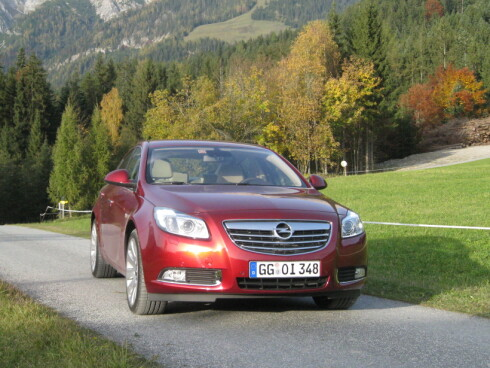 Opel Insignia prøvekjørt