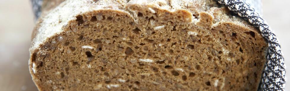 72 prosent av de spurte i en undersøkelse mener at grovheten i brødet er viktig.  Foto: colourbox.com