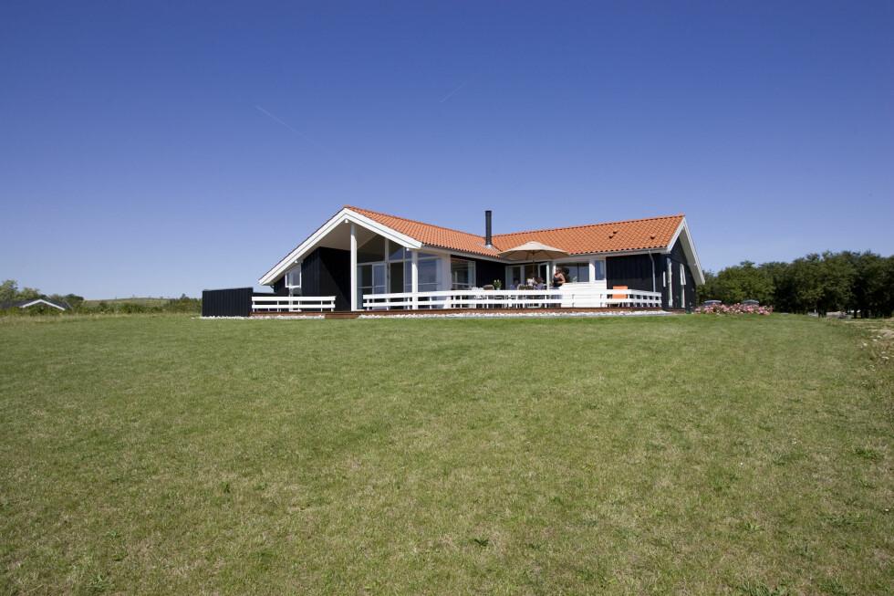 Du mister hverken hus - eller boliglån - om banken går konkurs. Foto: Colourbox.com
