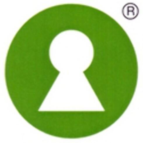 Nøkkelhullet er symbolet som følger de sunneste alternativene i matbutikken.  Foto: Mattilsynet