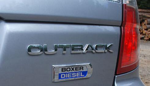 Subaru har hatt en voldsom økning hittil i år, mye takket være den nye bokserdieselen (Her: Outback). Men så lå de også svært langt nede i fjor. Foto: Cato Steinsvåg