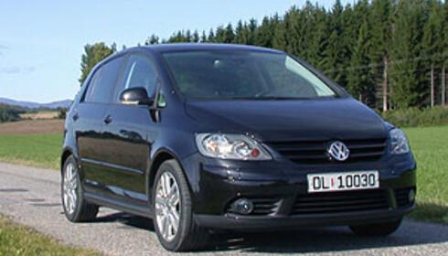 Volkswagen Golf troner på topp like før den skal erstattes av en ny modell. Her: Varianten Golf Plus. Foto: Knut Moberg